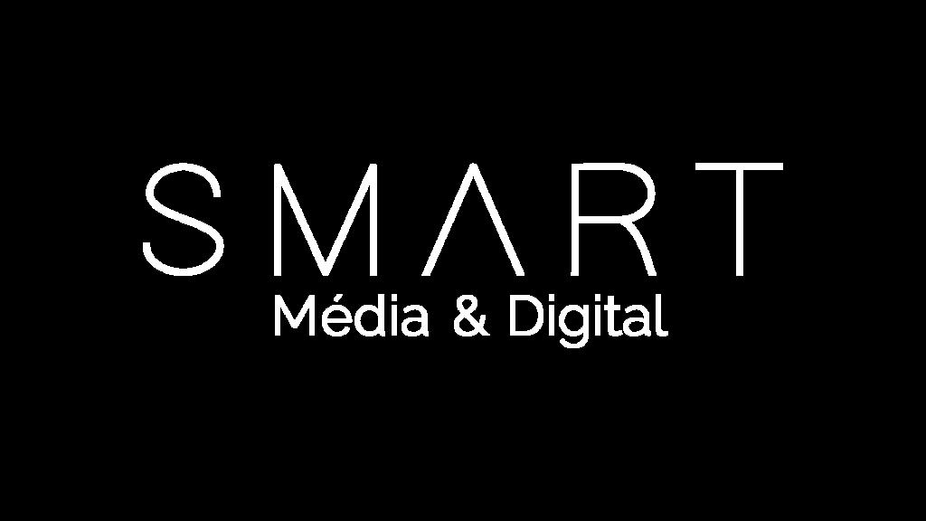 Logo Smart Media Blanc